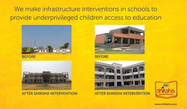 Improve education infrastructure